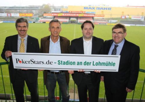 PokerStars sponsorerer tysk fodboldstadion