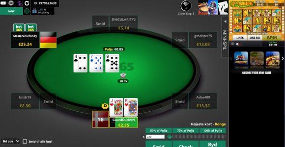 Spil hos Bet365 Poker – KLIK HER!
