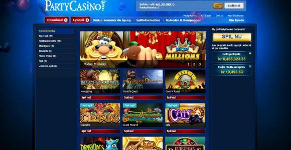 Spil hos Party Casino – KLIK HER!